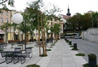 Przebudowa placu Mały Rynek w Opolu