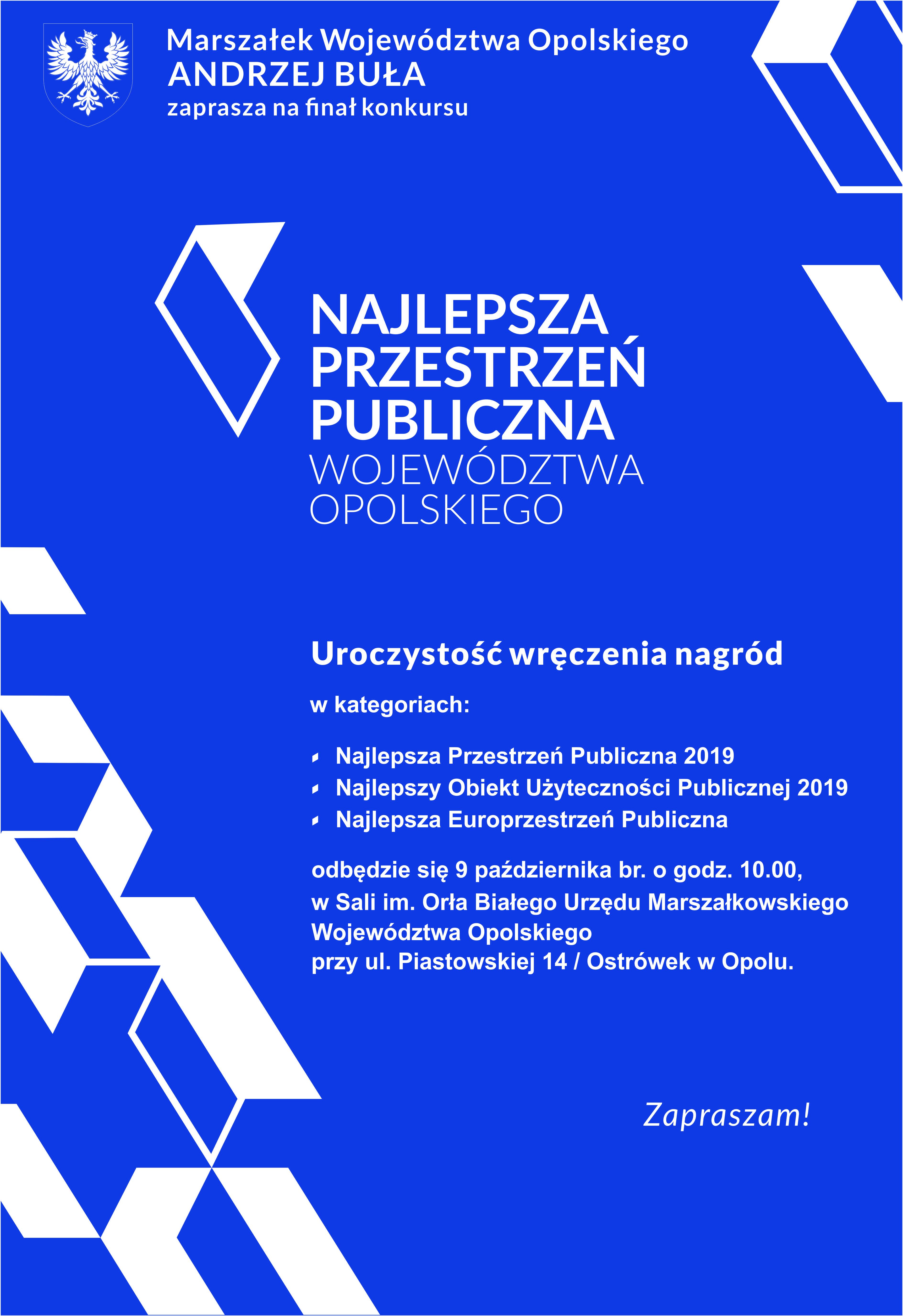 Zapraszamy na finał konkursu - 9.10.2019 r. -