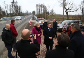 Nowy most z komfortowym dojazdem
